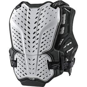 Troy Lee Designs Rockfight Protector Pecho Jóvenes, solid white